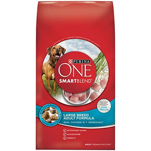 Purina ONE SmartBlend Adult Large Breed Formula Dry Dog Food - (1) 31.1 lb. (Purina One Chicken And Rice)
