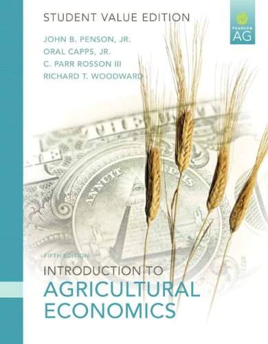 Introduction to Agricultural Economics: Student Value Edition