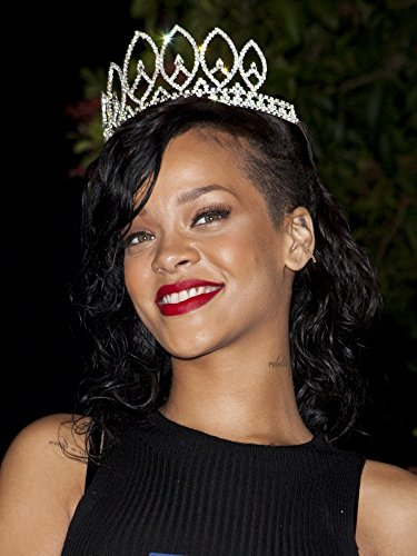Rihanna At Arrivals For RihannaS Halloween Costume Ball 2012 Greystone Manor West Hollywood Los Angeles Ca October 31 2012 Photo By Emiley SchweichEverett Collection Photo Print (16 x 20)