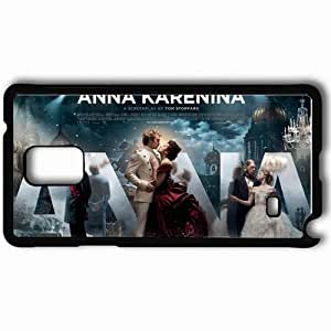 Personalized Samsung Note 4 Cell phone Case/Cover Skin Anna karenina movie movies Black