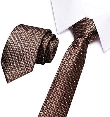 QEHWS Corbata Corbatas Gradiente De Color Corbatas Sólidas Corbata ...