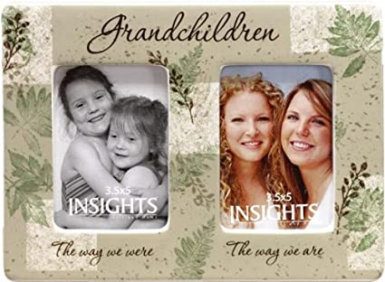 Amazon.com - Insights Then And Now Grandchildren Double Frame - Then ...
