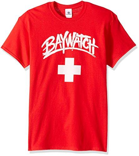 Baywatch Men's Logo T-Shirt, Red, 3XL