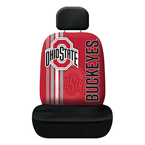 Ohio Car Seat - Fremont Die NCAA Ohio State Buckeyes Rally Seat Cover