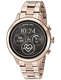 Michael Kors Access MKT5046 Smartwatch para Mujer, Extensible, Acero color Oro Rosado, Caja color Oro Rosado, Multifunción