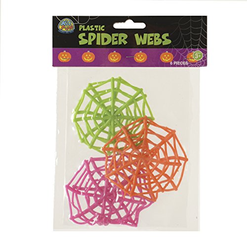 Marvel Trading Company, Inc. Spooky Sticky Stretchy Spider Web Halloween 4