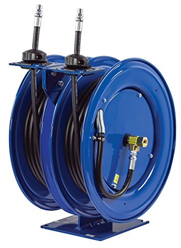 Coxreels C-MP-430-430 Dual Purpose Spring Rewind Hose Reel for air/water/oil: 1/2