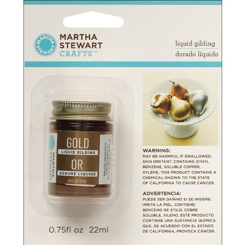 Martha Stewart Crafts Liquid Gilding.75 oz, Gold