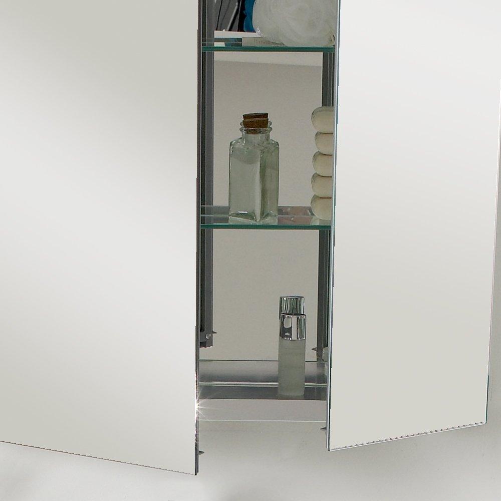 Modern bathroom medicine cabinets - Amazon Com Fresca Bath Fmc8090 30 Wide Bathroom Medicine Cabinet With Mirrors Home Improvement