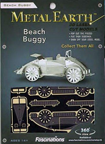 032309010060 - Fascinations Metal Earth Beach Buggy 3D Metal Model Kit carousel main 4