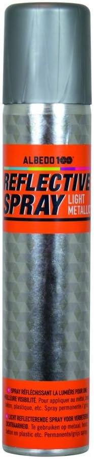 Albedo 1590152 Reflektierende Spray 200 Ml Light Metallic Auto