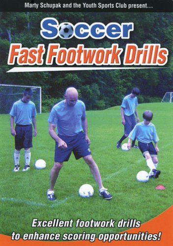 (Soccer Coaching:Soccer Fast Footwork Drills )