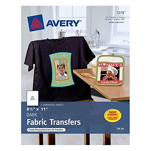 Avery InkJet Iron T Shirt Transfers