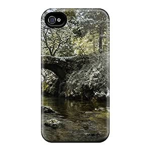 Ultra Slim Fit Hard JosareTreegen Cases Covers Specially Made For Iphone 6- Ancient Little Stone Bridge