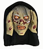 Scary Peeper Zombie Halloween Prop - Spooky Holiday Decoration – True-to-Life Motion Activated Zombie that Peers in Your Window with Glowing LED Eyes