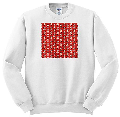 ss_210900_5 Anne Marie Baugh - Patterns - Cute Firehouse Dogs Pattern - Sweatshirts - Adult SweatShirt 2XL