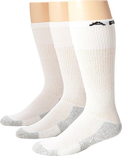 Ariat Men's Over The Calf 3 Pack Socks,White,M