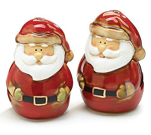 Antique Santa Claus Porcelain Salt & Pepper Shaker Set