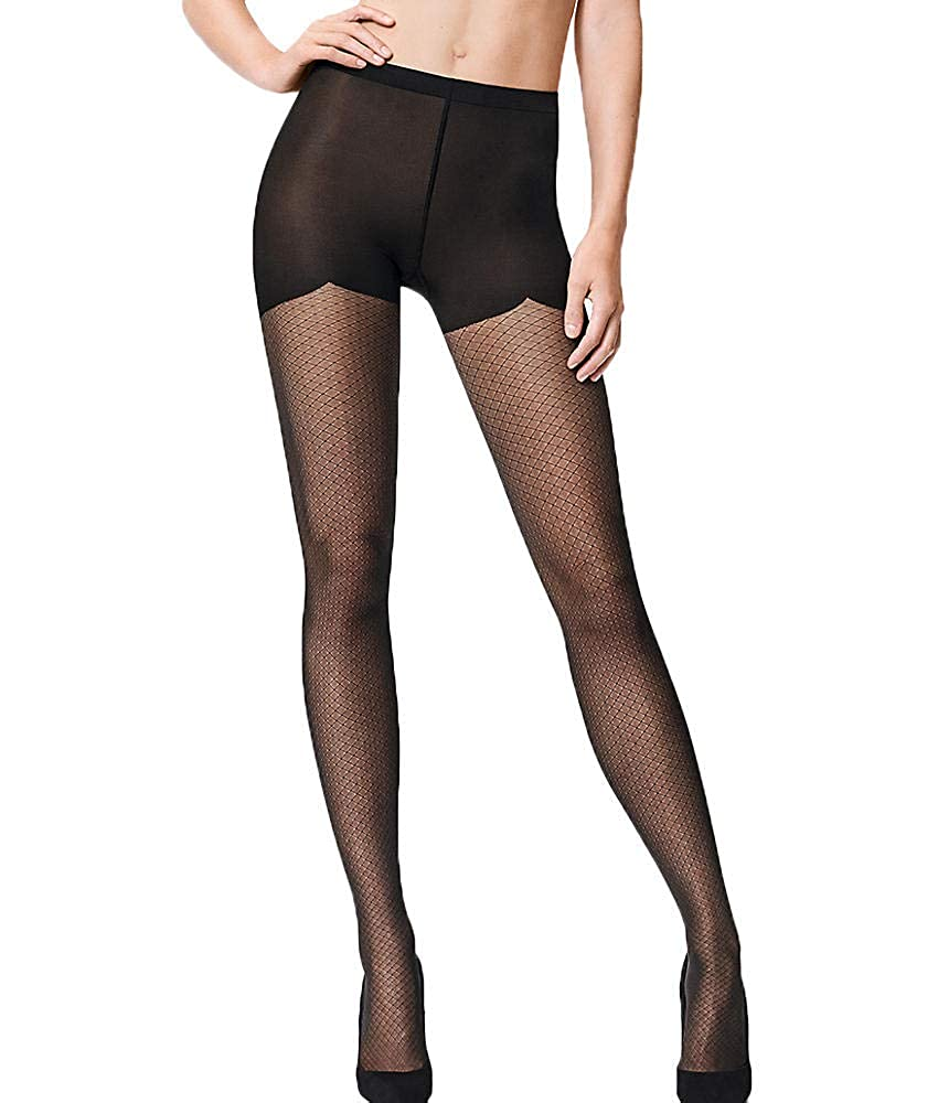 6cc09939a Helena Back Seam Tights at Amazon Women s Clothing store