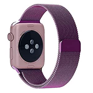 Amazon.com: Apple Watch Band Leefrei Magnetic Closure