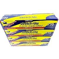 "4 Pack - Kirkland Signature Stretch Tite Plastic Food Wrap HUGE 11 7/8"" X 758 ft."