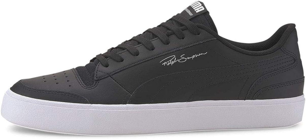 Amazon.com | Puma Men's Ralph Sampson Vulc Sneakers (Puma Black ...
