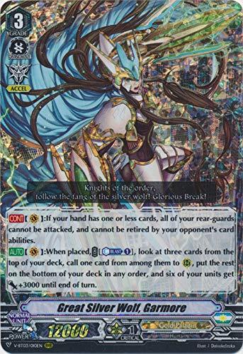 Amazoncom Cardfight Vanguard Great Silver Wolf Garmore V