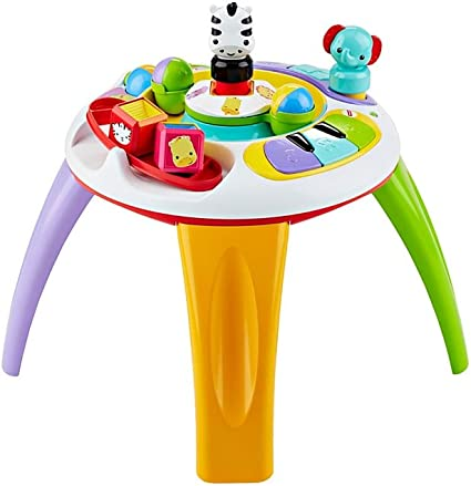 Fisher-Price - Silly Safari Musical Activity Table (Mattel DGT86 ...