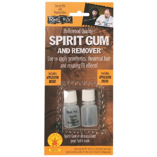 Rubie's Costume Co Reel FX Spirit Gum and Remover, Clear, One Size