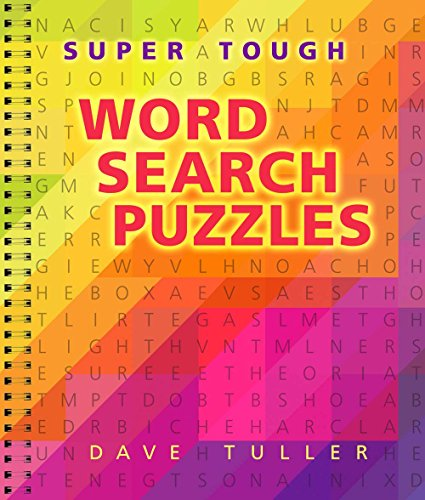 Super Word Puzzles - Super Tough Word Search Puzzles