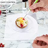 Mosthink Cookie Decorating Turntable, Swivel Cookie Turntable Stand with Anti-slip Silicone Mat, Sugar Icing Cookie Decorating Tools Supplies/Updated Version/Acrylic/ 5.9 x 5.9 inch