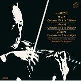Heifetz: Bruch Violinkonzert Nr. 1 g-Moll / Mozart: Violinkonzerte Nr. 4 D-Dur & 5 A-Dur