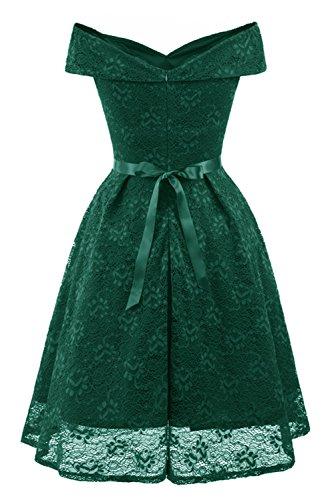 Toskana Vestido para encaje con largo noche Verde fiesta de Braut o boda 5rw5Xq4S
