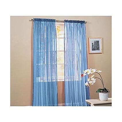 Elegante Comfort Ver A Traves Cortinacortinascortinas 40 W X 84l - Ver-cortinas