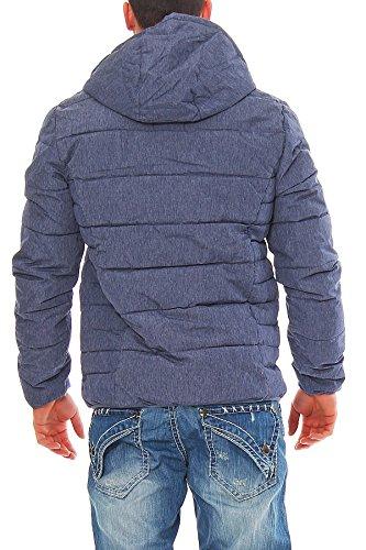 G.I.G.A. DX by Killtec Herren Winterjacke Übergangsjacke Funktionsjacke Jacke mit Kapuze Regenjacke NAGARO