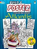 Build a Poster Coloring Book--Atlantis (Dover Build A Poster Coloring Book)
