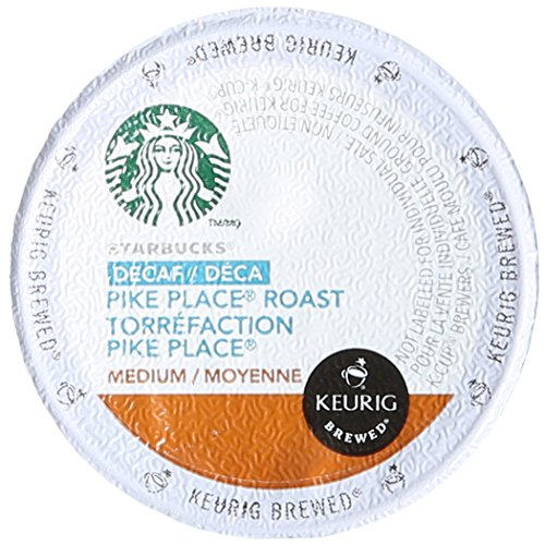 Starbucks Decaf Pike Place Roast K Cups, 24 Count (Pack of 2) (K Cups Starbucks Decaf)