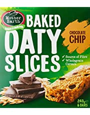 Mother Earth Baked Oaty Slice Chocolate Chip, 240 g