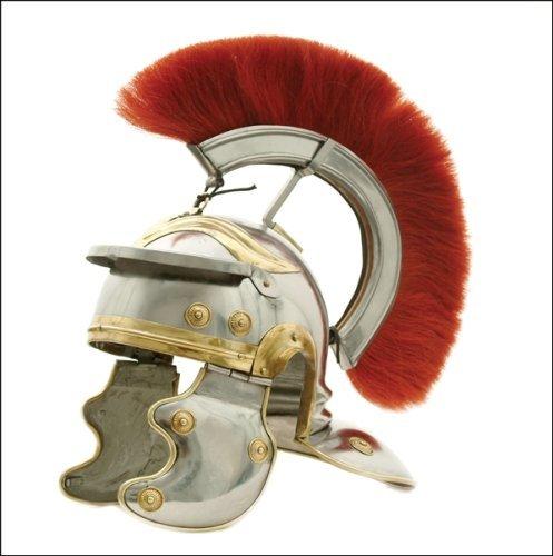 USC Trojan Football Full-size Metal Replica Roman Centurion Helmet - Metal Replica Helmet