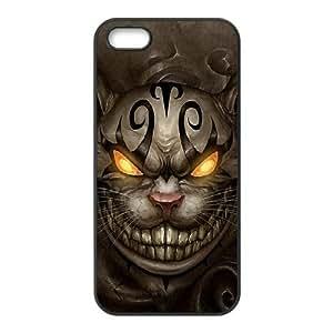 Nuktoe Iphone 5S Case Cat Creepy KN297183