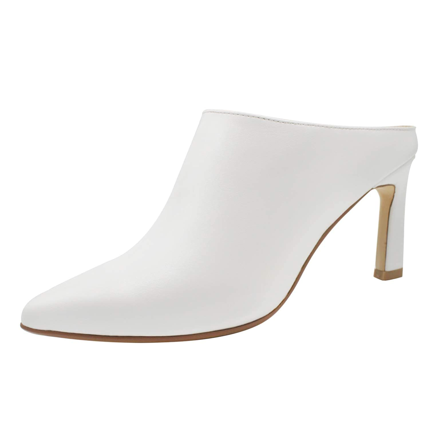 MAYPIE Pointed Toe Stiletto Mules