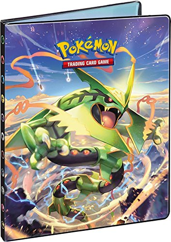 Pokemon Xy Roaring Skies A4 9 Pocket Portfolio Rayquaza.