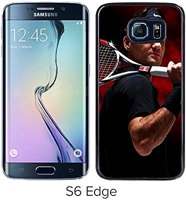 Amazon.com: Handmade Roger Federer Tennis Black Samsung ...