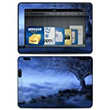World's Edge Winter Design Protective Decal Skin Sticker (Matte Satin Coating) for Amazon Kindle Fire HDX 7 inch (released 2013) eBook Reader
