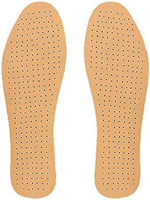 Plantillas ortopédicas de PU para soporte de arco de pie plano Masaje ortopédico de silicona Almohadilla para calzado Cuidado de los pies Plantilla de cojín - Marrón