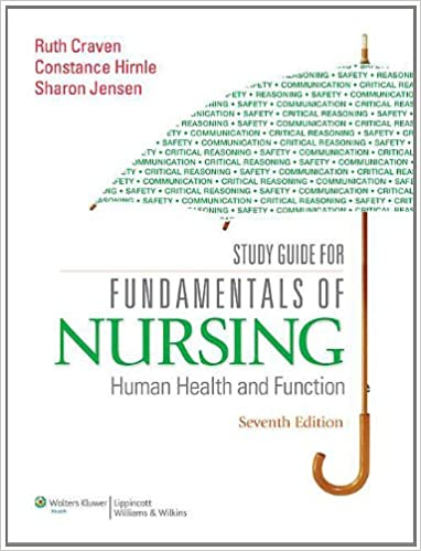 Study guide for fundamentals of nursing human health and function study guide for fundamentals of nursing human health and function seventh edition fandeluxe Image collections