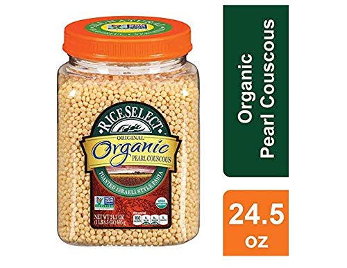 RiceSelect Organic Pearl Couscous, 24.5 oz (Pack of 2) ()