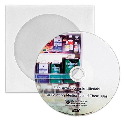 """Weber """"Oil Mediums & Their Uses"""" DVD"""