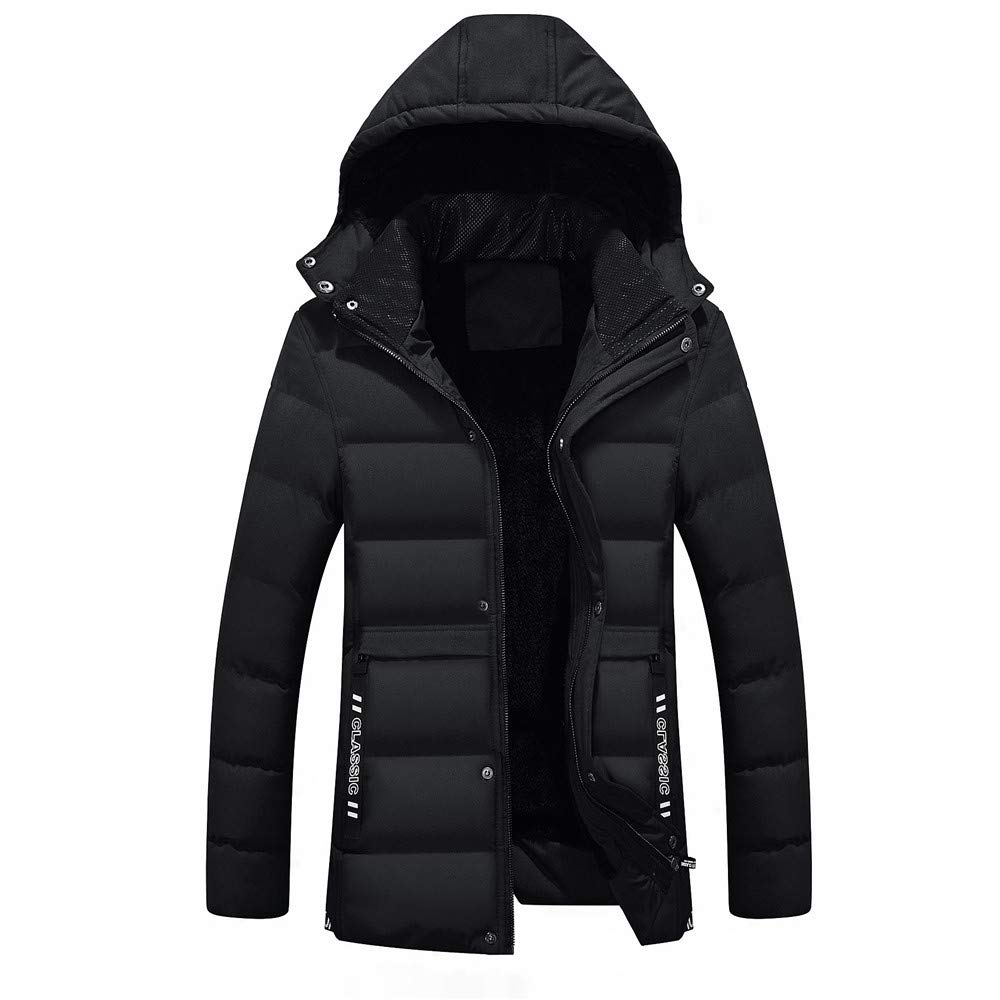Amazon.com: Winter Jacket Men Warm Coat Sportswear Outwear Winter Parka Chaquetas Plumas Hombre Men Coats Duck D: Clothing