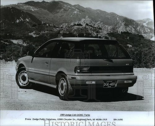 Vintage Photos Historic Images 1989 Press Photo 1989 Dodge Colt DOHC Turbo. - 8 x 10 in